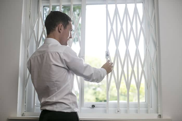 Retractable Window Grilles Window Security Solutions