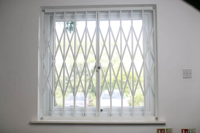 Retractable window grilles security solutions