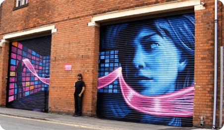 5 of the Best Roller Shutter Art Designs