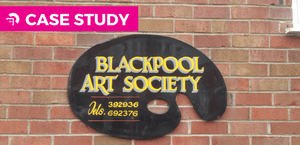 Blackpool Art Society Invests in Hammerglass for Security